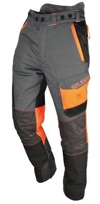Solidur Comfy grijs-oranje