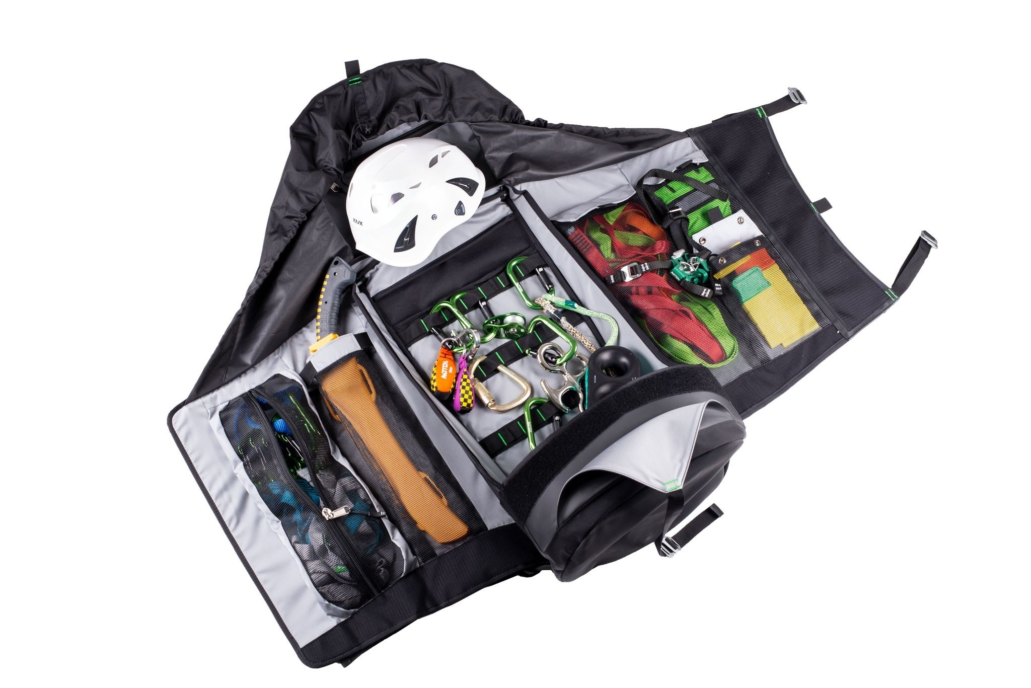 Notch Pro Access bag open