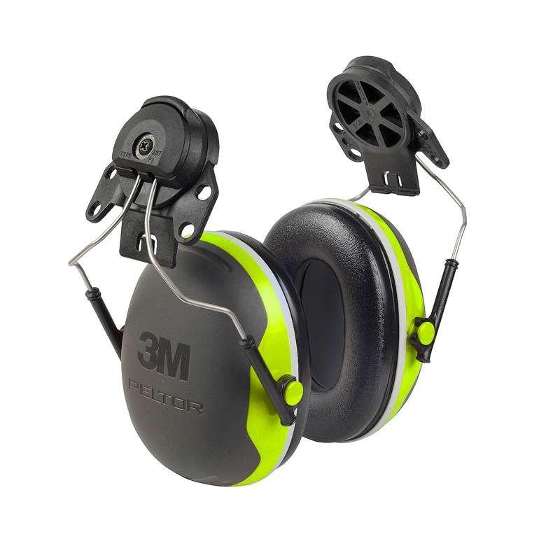 3M Peltor gehoorbeschermer met steekbevestiging compact lime