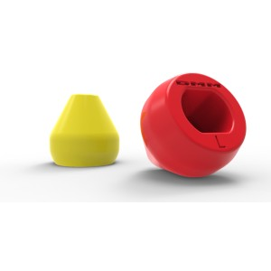 Teufelberger retriver cone large rood