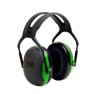 3M Peltor gehoorbeschermer met hoofdbeugel groen