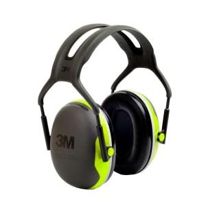 3M Peltor gehoorbeschermer met hoofdbeugel compact lime